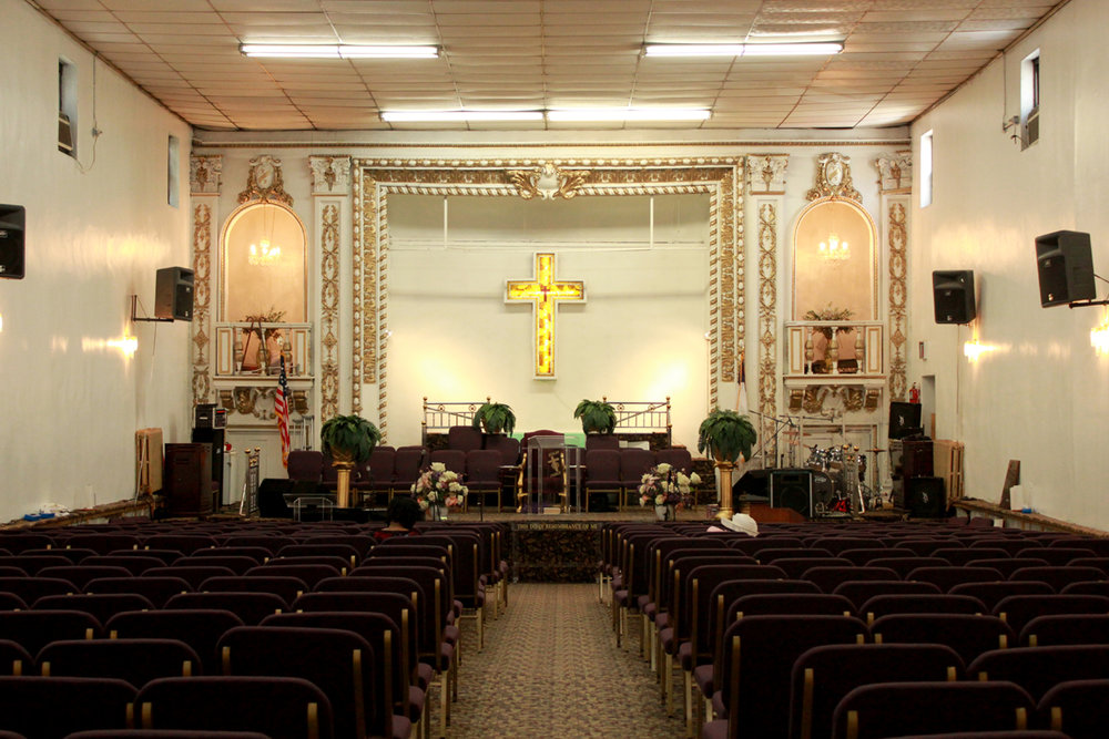 Image 5 / Interior view of Beulah Church of God in Christ, Photograph by Lane Rick