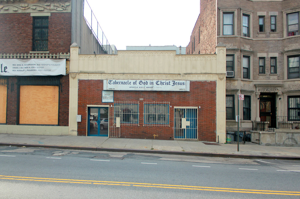 Image 6 / The Tabernacle of God in Christ Jesus, Rogers Ave., Photograph by Lane Rick