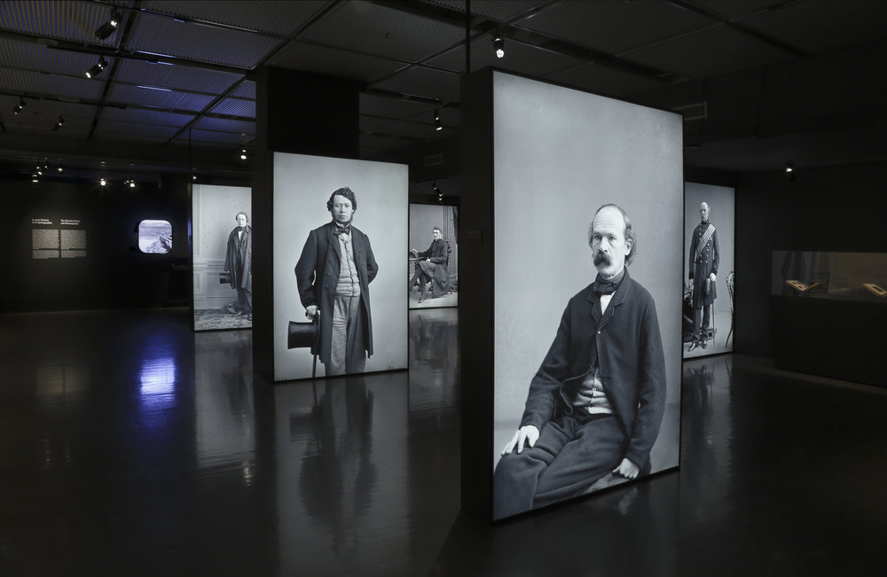 Image 2: Installation view of  Notman, A Visionary Photographer , McCord Museum, Montreal, 2016 (photo by Marilyn Aitken)
