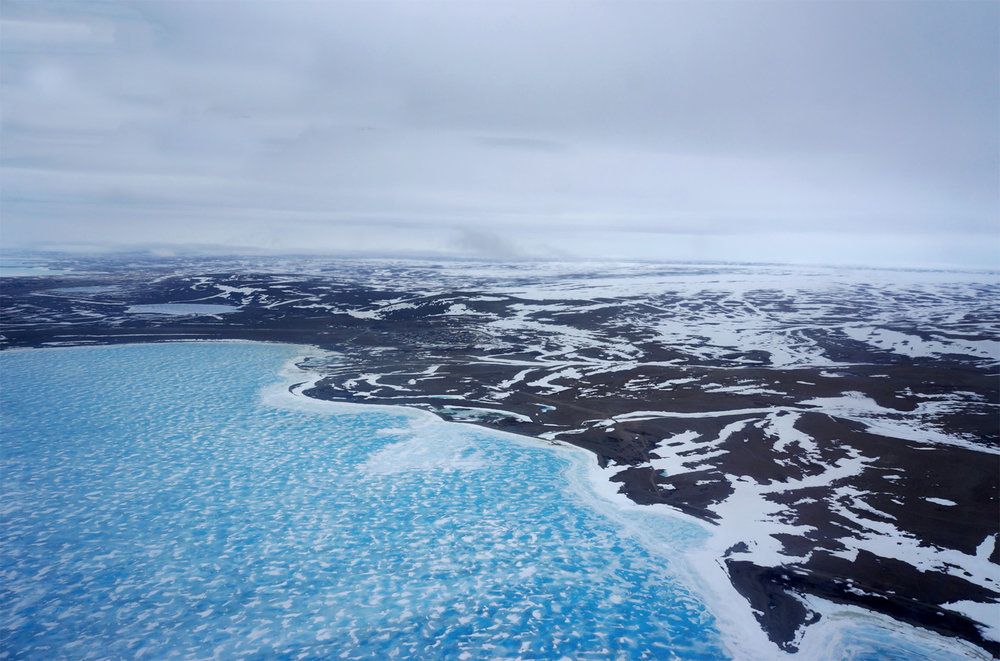 Figure 2: Approach from Southeast. Resolute Bay, NU