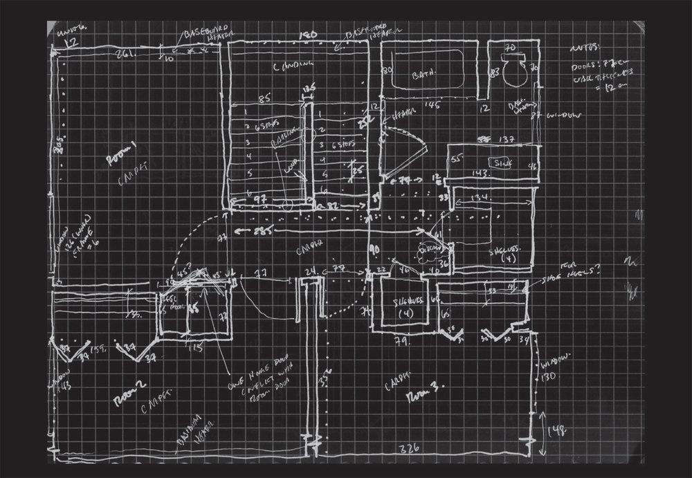 Figure 8: Apartment 6 GF floor plan. South Camp Inn, Resolute Bay, NU