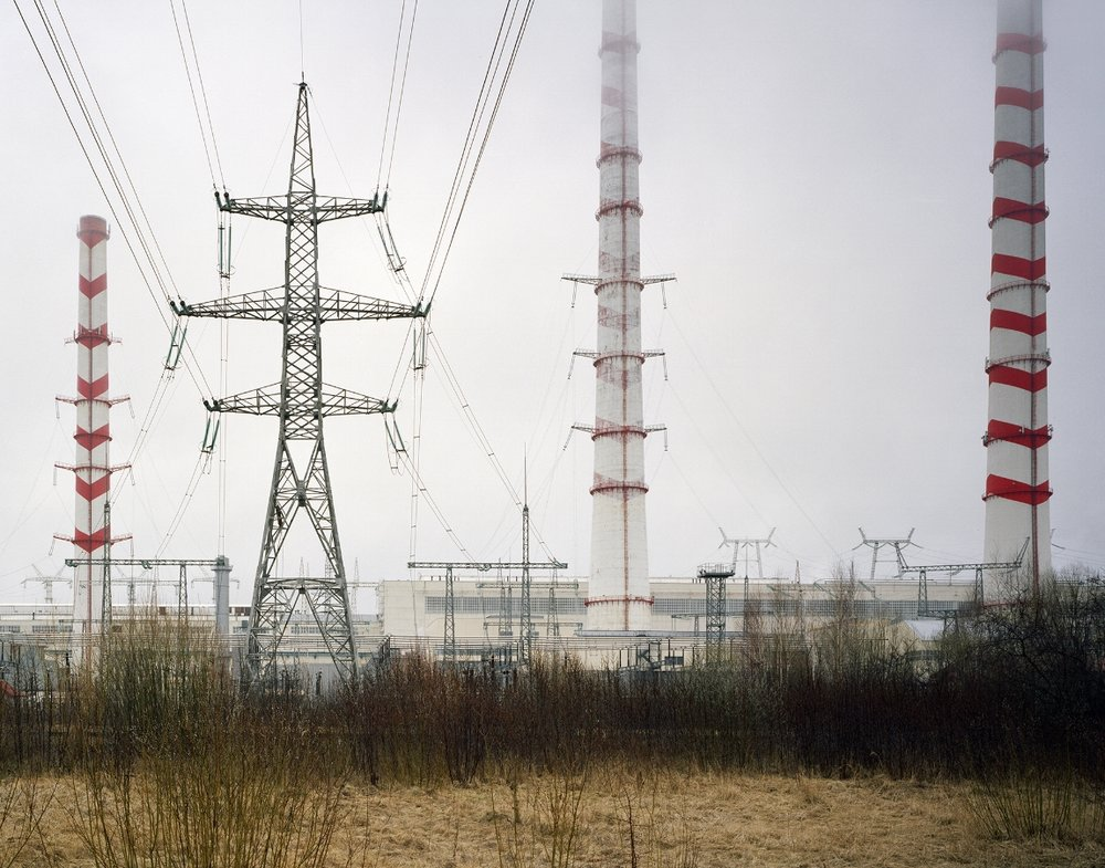 The Elektrenai power plant was built between 1960 and 1972, 50 km outside of Vilnius. It is the primary source of electrical power in Lithuania, only recently updated to meet EU guidelines. Elektrenai Power Plant I, David Grandorge, 2015