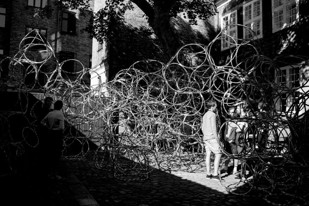 """Peoples Architecture"", Arkitektforeningen, Copenhagen 2017. Photo by Aisling O'Carroll"