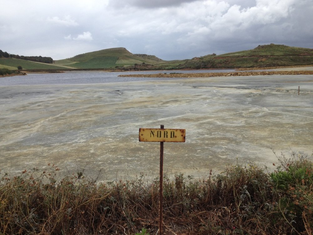 Image 3: Tailings Pond, Furtei, 2016. Photograph by Christopher Alton