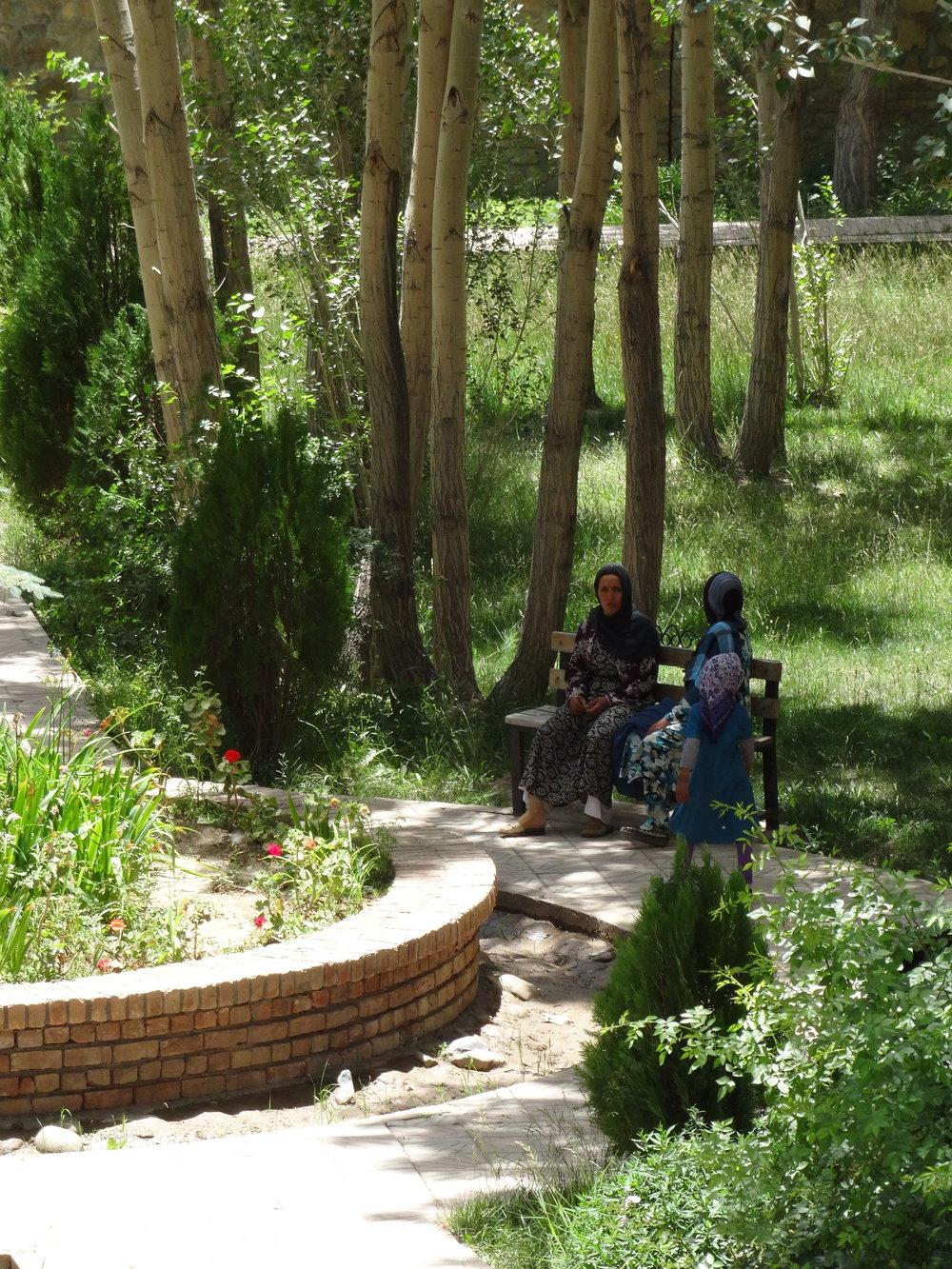 Image 4 Women's Garden, Bamyan, 2016. Photograph by Safira Lakhani