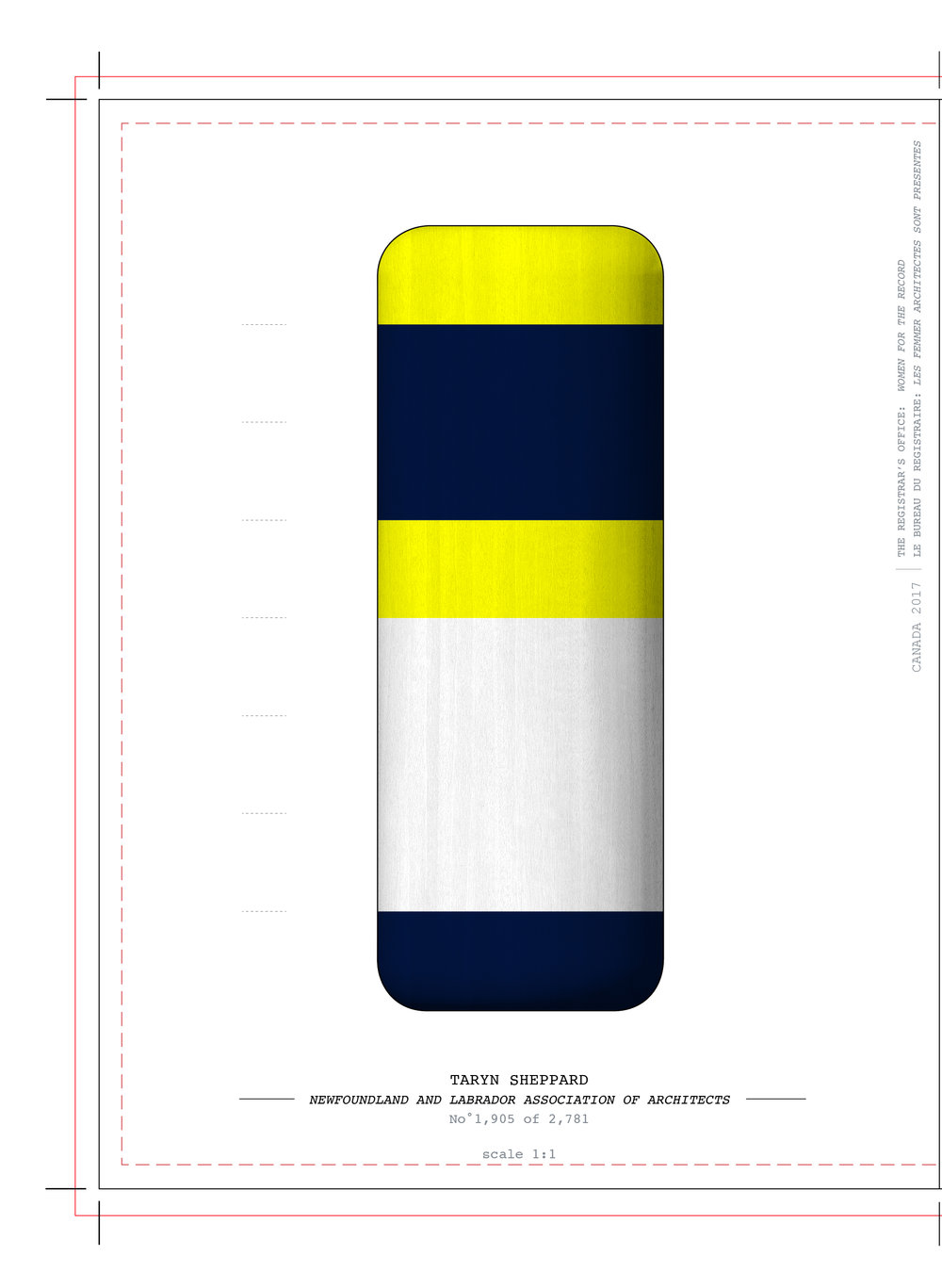 Coded buoys for Taryn Sheppard, 2017. Acre Architects
