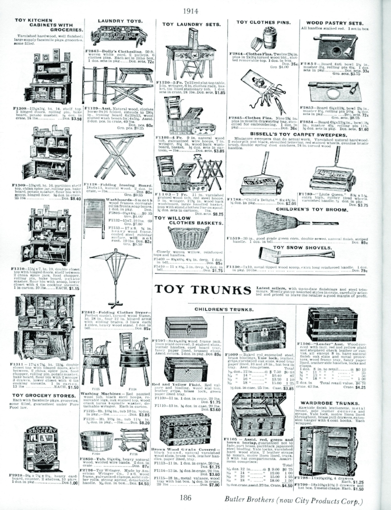Image 4 / Toy catalogue, Household toys by Butler Boys (City Corps Co.), 1914