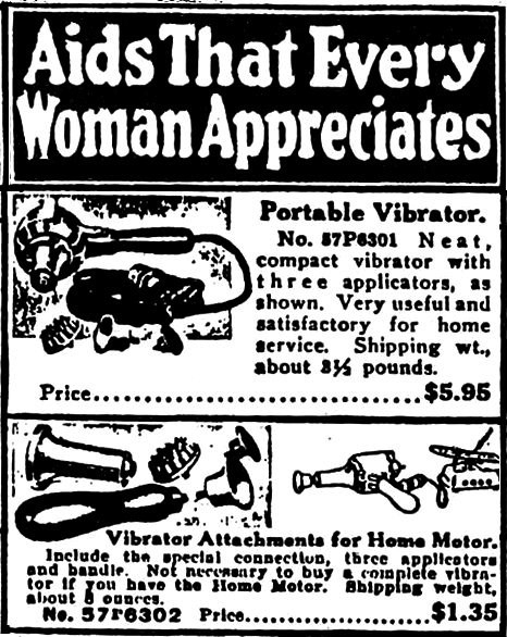 "Image 10 / ""Aids That Every Woman Appreciates,"" 1918. Print ad. Sears Catalogue"
