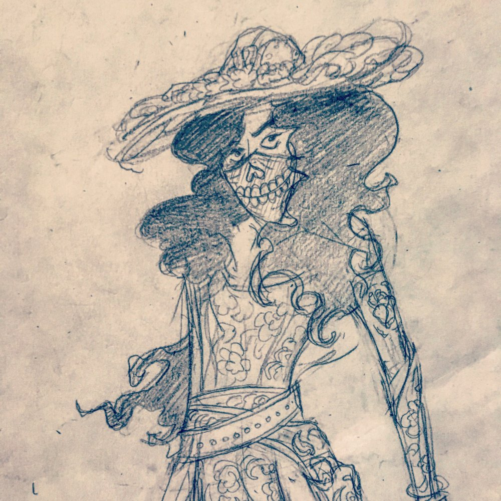 Character sketch of La Llorona