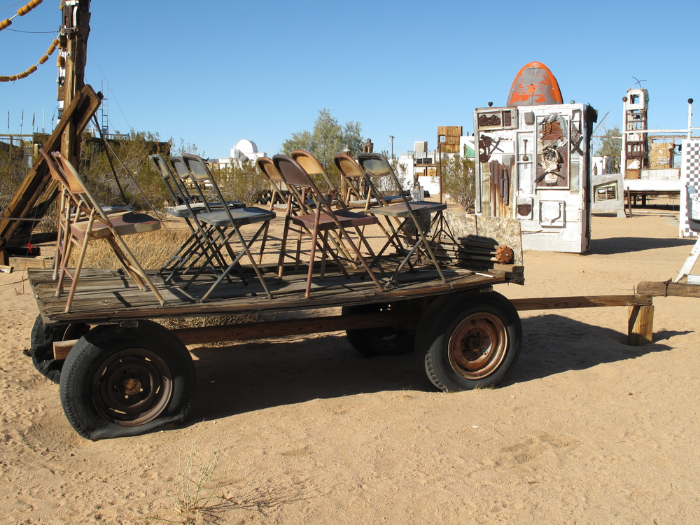 Joshua tree outdoor museum noah purifoy foundation for Classic house 1995