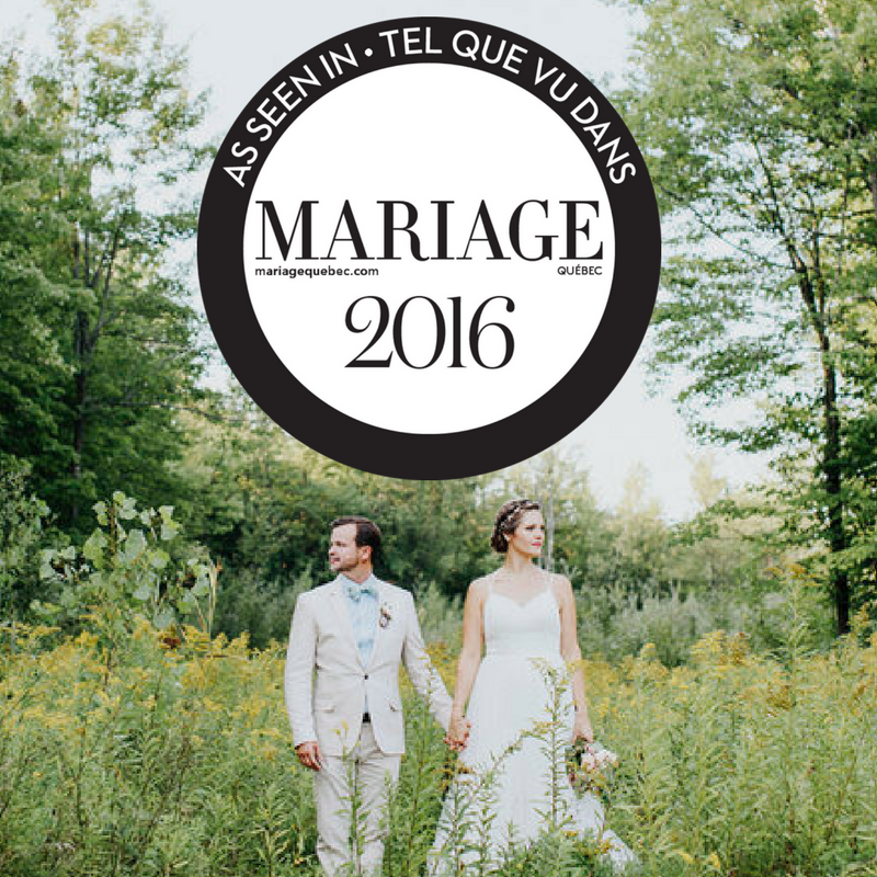JENNA & JEAN-FRANCOISTIE THE KNOT! Mariage Quebec - September 3rd 2016