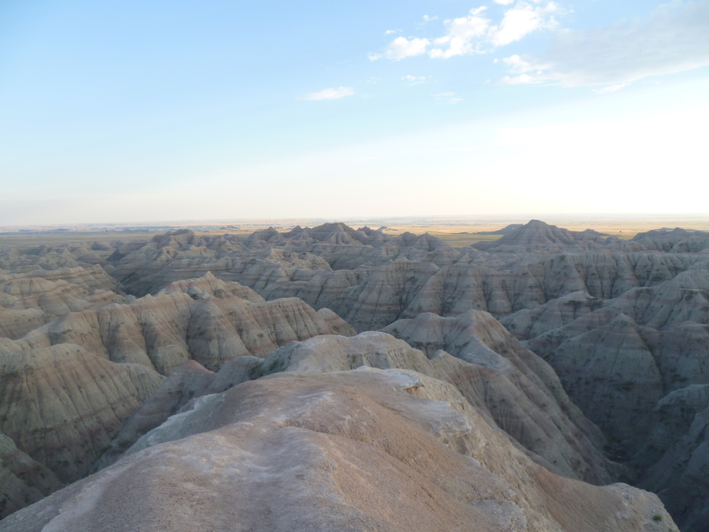 Badlands National Park, South Dakota U.S.A.