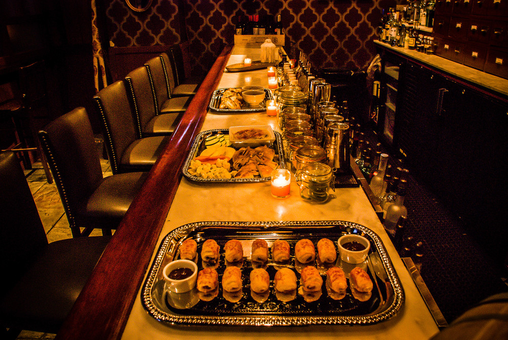 Party Platters in Cocktail Lounge