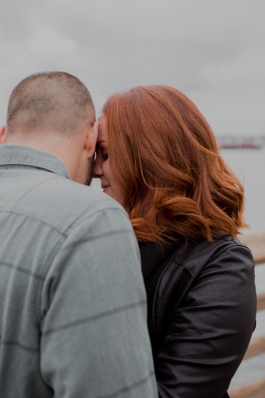 Alki Beach Seattle Engagement Photos