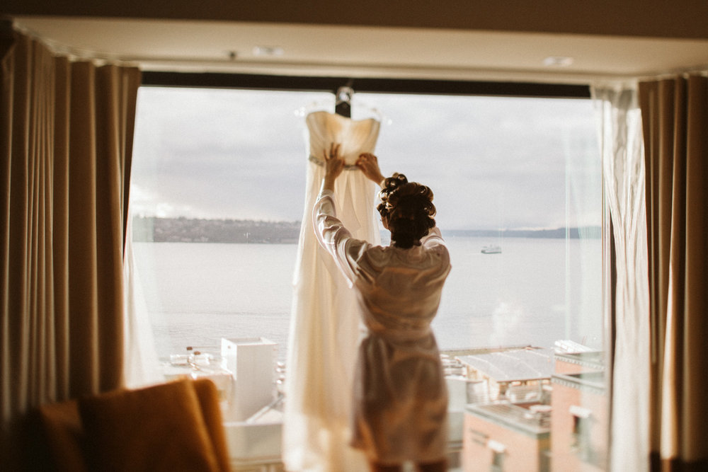 Inn at the Market Seattle Wedding by Reese Ferguson