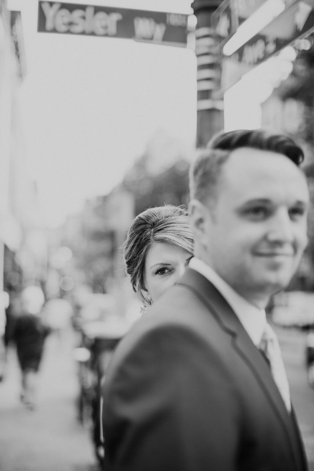 Yesler Way Historic Seattle Wedding Pioneer Square BHLDN Bride Groom Nordstrom Penguin Photos by Reese Ferguson