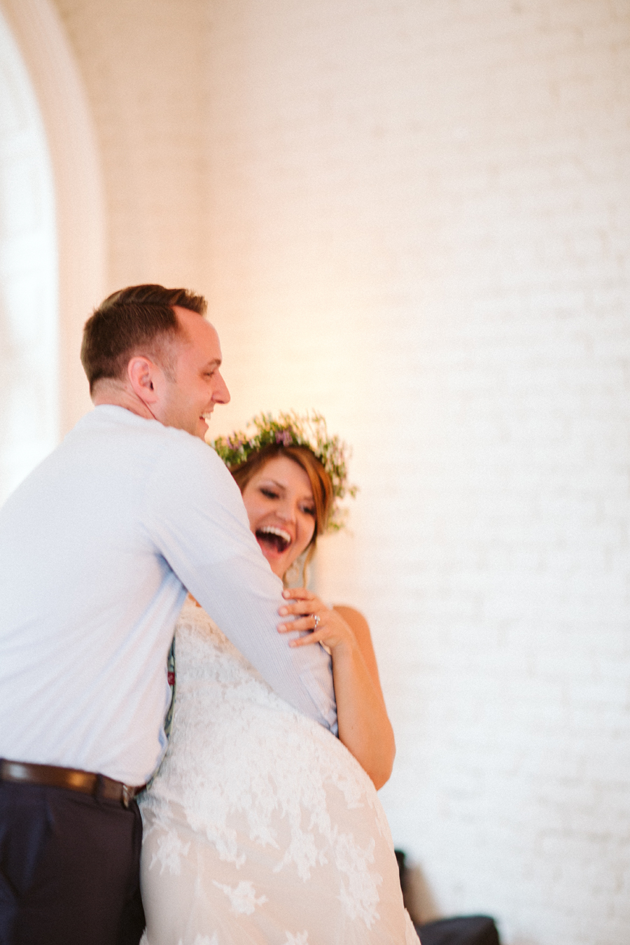 Seattle Wedding, Boho Bride BHLDN Bridal Gown photos by Reese Ferguson