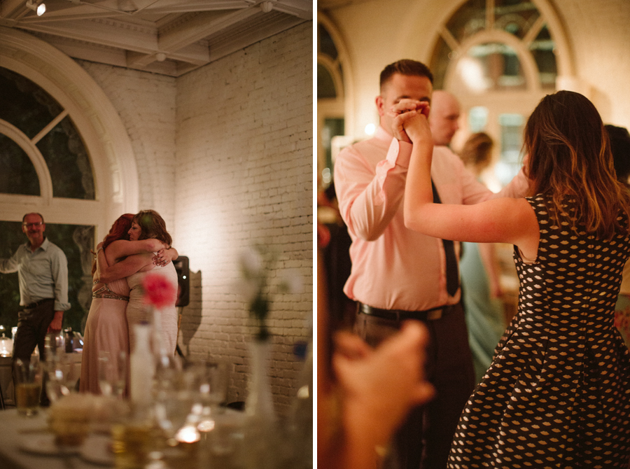 Seattle Wedding, Boho Bride BHLDN Bridal Gown Reception photos by Reese Ferguson