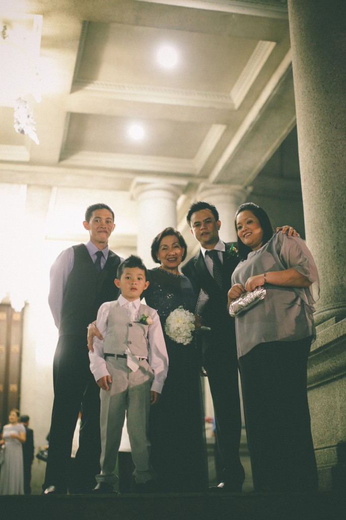 san   diego wedding photographer | family in grey and black formal wear