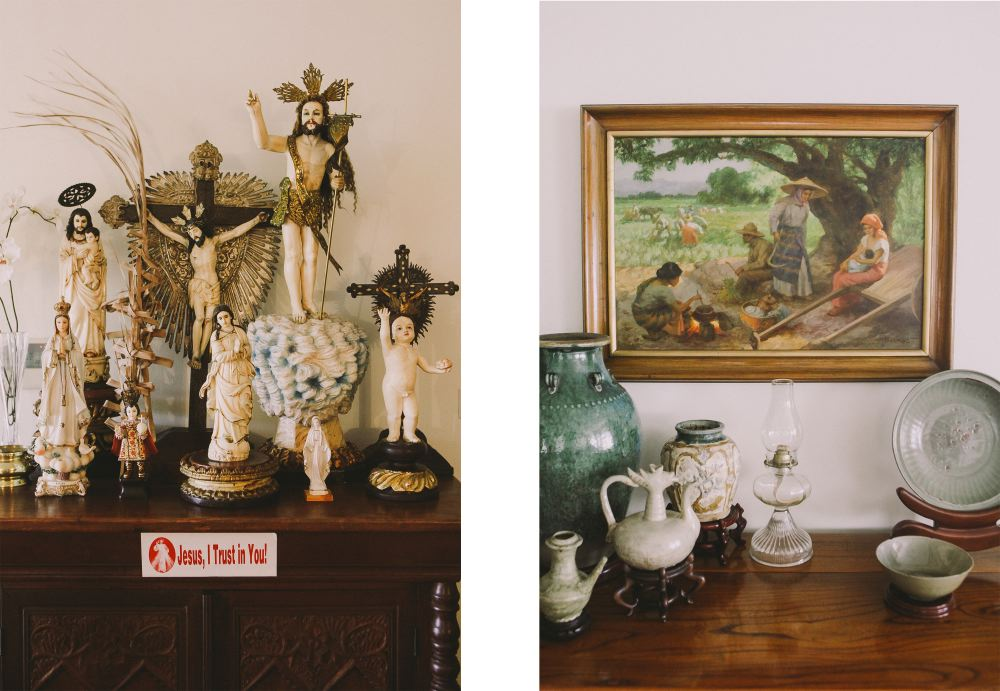 san   diego wedding photographer | collage of religious items