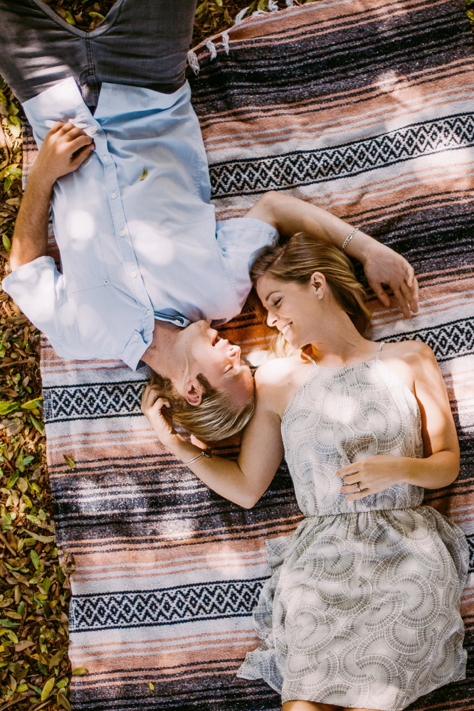 san   diego wedding photographer | flickering gif of woman in pink grabbing man   behind her with ocean projected on them
