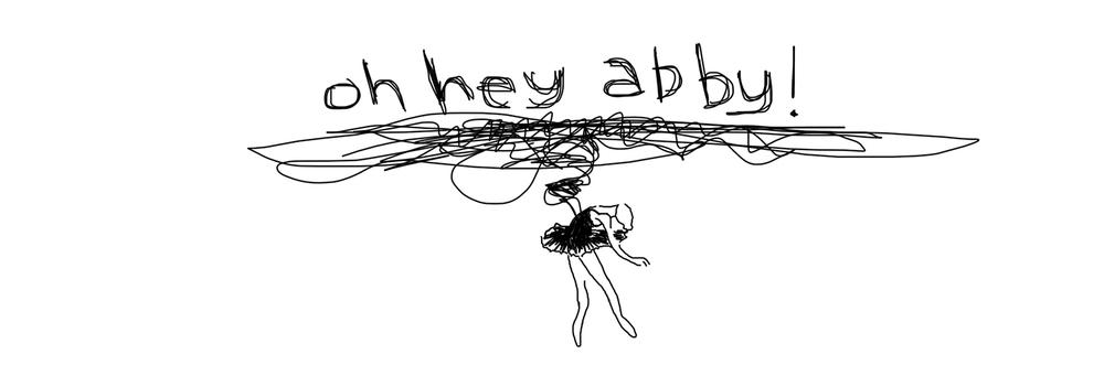 san diego wedding   photographer   sketch of dancing ballerina below scribbles