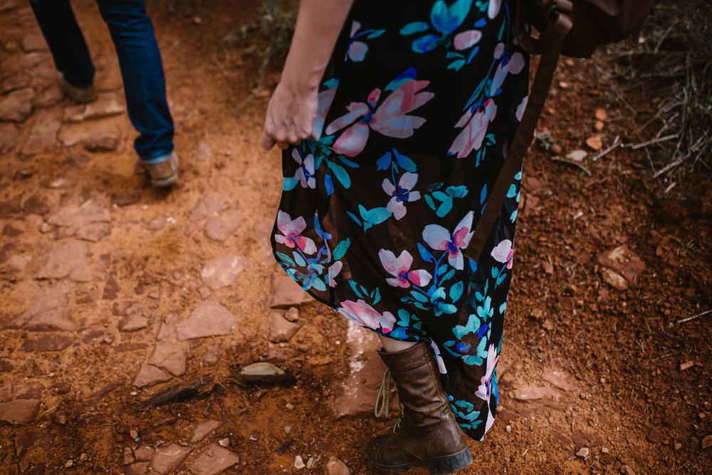 san diego wedding   photographer | lower body of woman in black floral dress