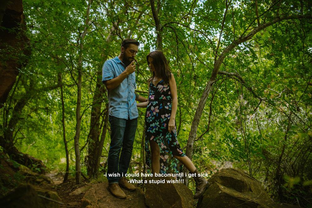 san diego wedding   photographer | bearded man in blue standing on rock