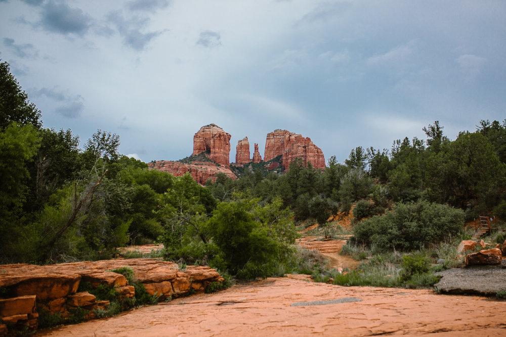 san diego wedding   photographer | arizona canyon with trees