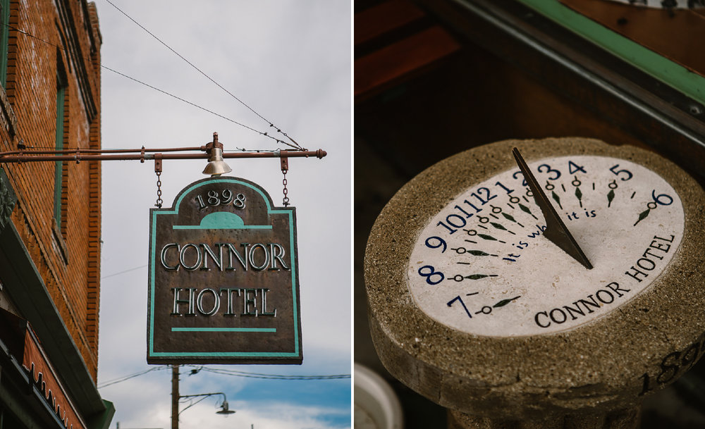 san diego wedding   photographer | collage of sign and sundial