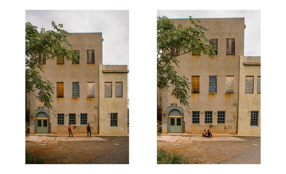 san diego wedding   photographer | collage of old yellowish building