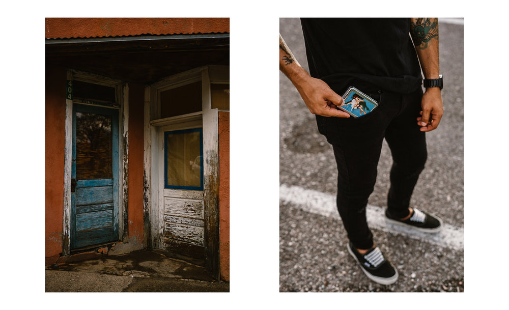 san diego wedding   photographer | collage of doors and man's phone in pocket