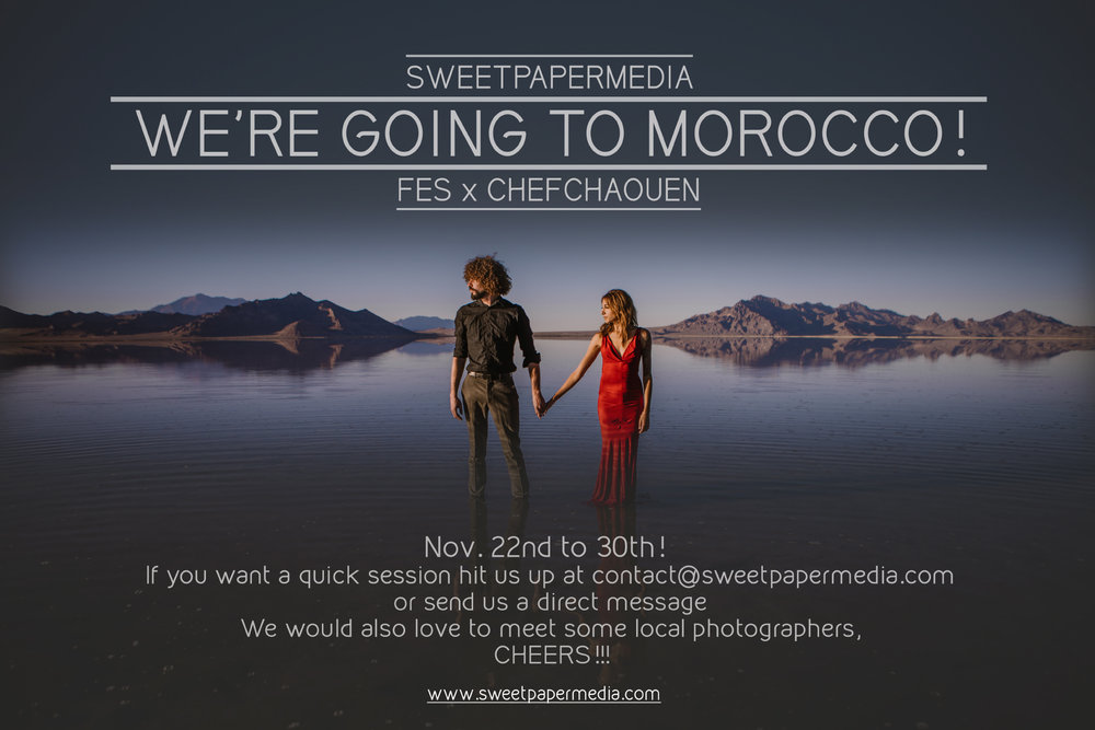 Let's shoot in Morocco!
