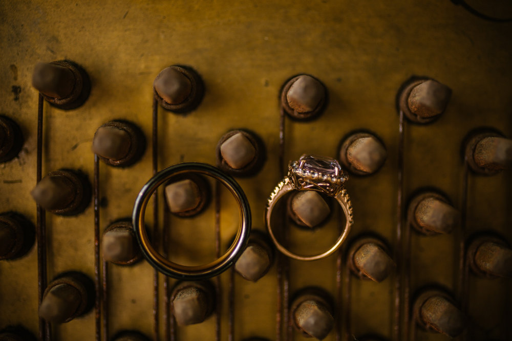 san diego wedding   photographer | rings on a wall