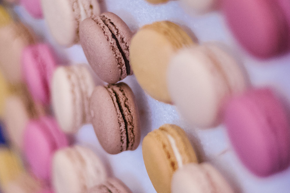san diego wedding   photographer | closeup of macaroons