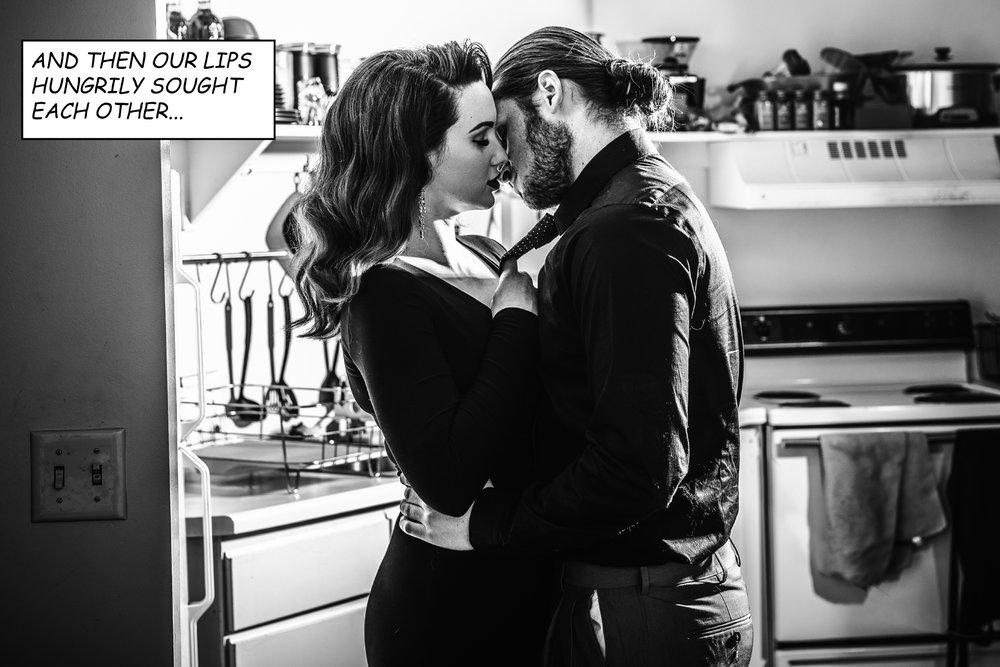 San Diego Wedding photographer | Sin City inspired engagement session | Salt Lake City Engagement session