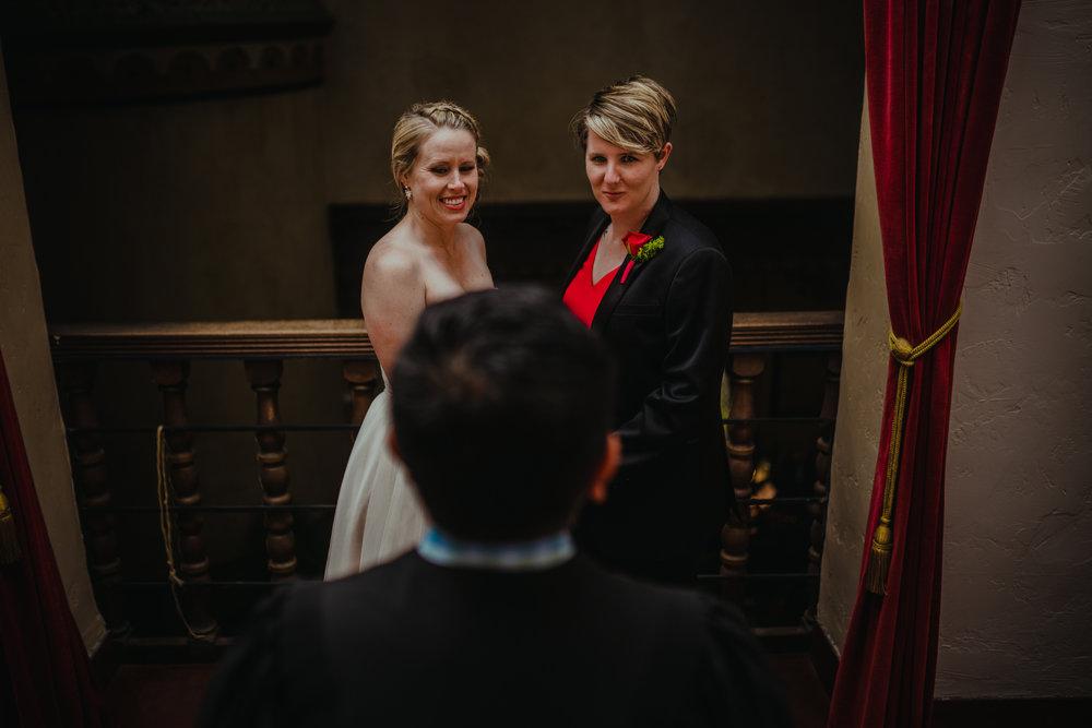 san diego wedding   photographer | women standing in front of man