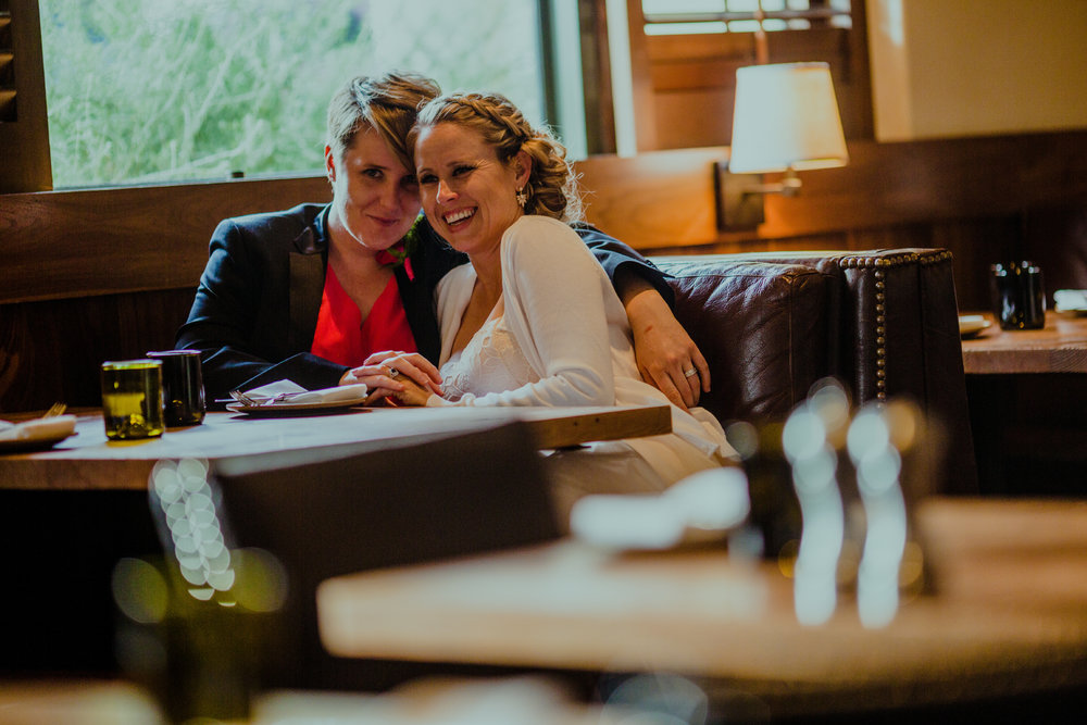 san diego wedding   photographer | women smiling in booth