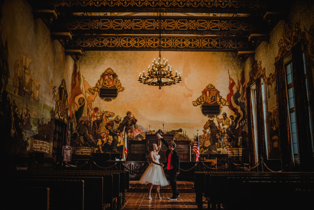san diego wedding   photographer | women dancing at the end of the aisle