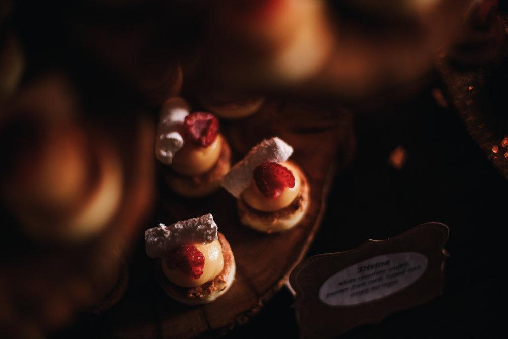 san diego wedding   photographer | topview of strawberry shortcakes