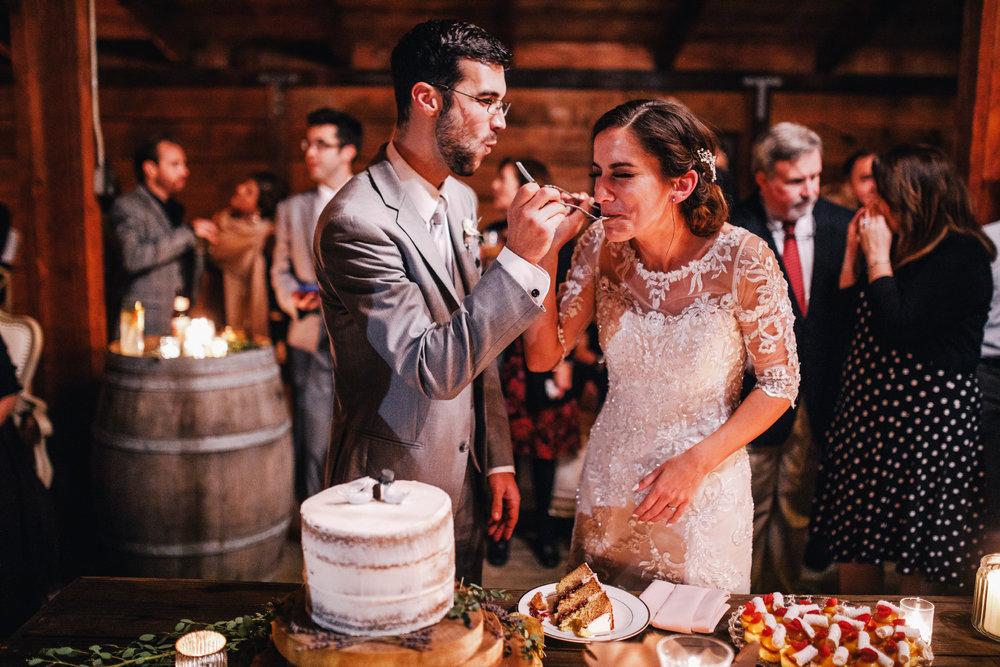 san diego wedding   photographer | groom feeding bride cake