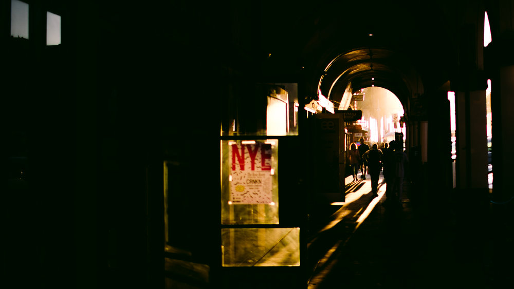san diego wedding   photographer | low light picture of a tunnel like structure illuminated by   light at the end of tunnel