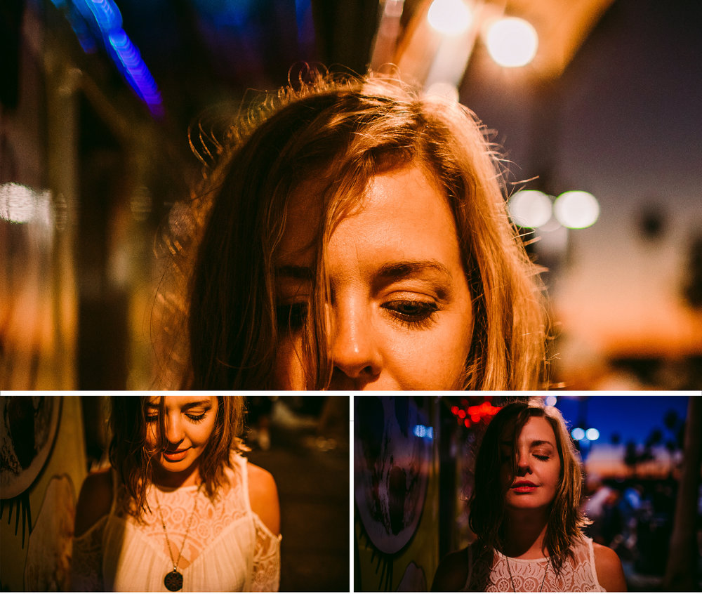 san diego wedding   photographer | woman's upper half of face illuminated by artificial light