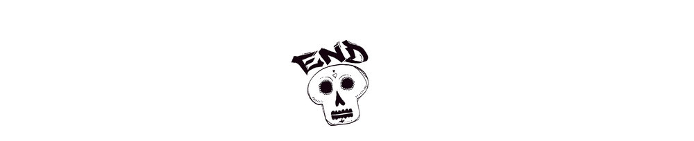 san diego wedding photographer | sketch of skull