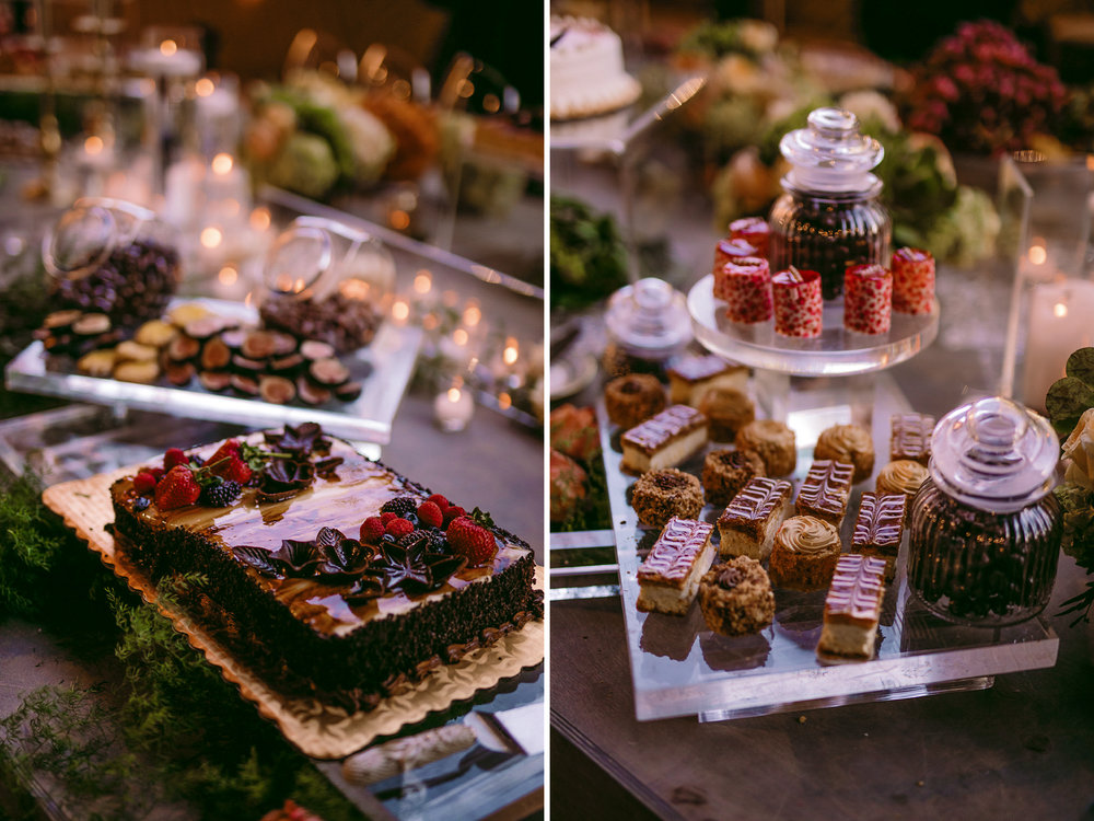 san diego wedding   photographer | collage of various sweets and cakes with dried fruits in the   background