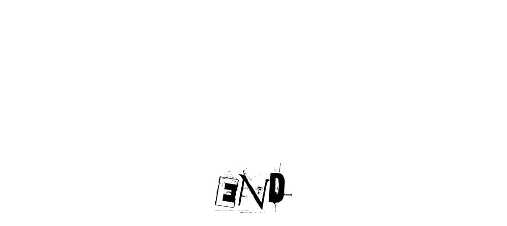 picture of text saying end