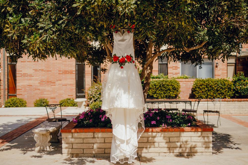 San Diego Wedding Photographer | wedding dress