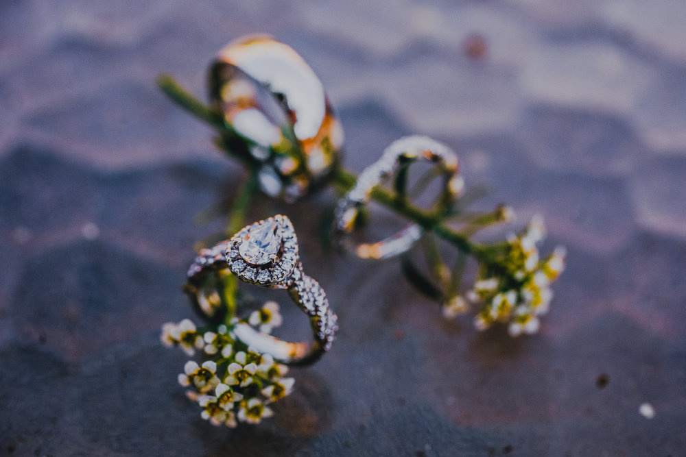San Diego Wedding Photographer | wedding rings