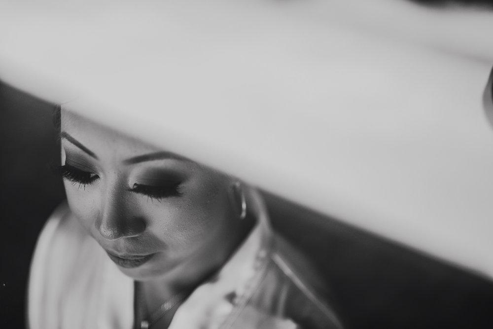San Diego Wedding Photographer | bride's beautiful eyelash