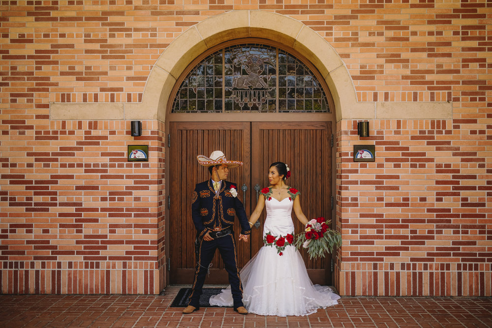 San Diego Wedding Photographer | bride and groom at a Mexican wedding